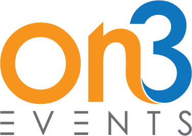 On 3 Events Logo